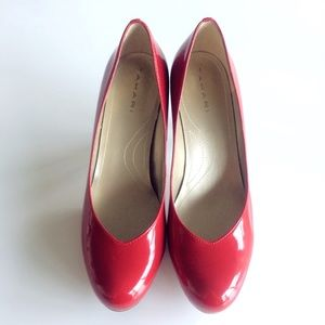 Tahari Lonnie Patent Leather Pumps